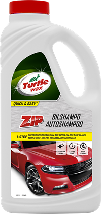 Turtle Wax ZIP Bilshampo 1L