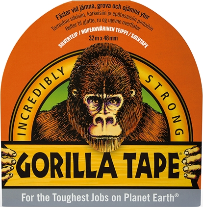 Gorilla Tape Silver 32mx48mm