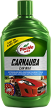 Turtle Wax Carnauba Car Wax 500ml