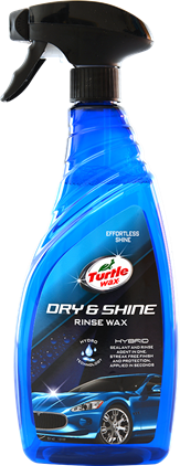 Turtle Wax Dry & Shine Rinse Wax 750 ml