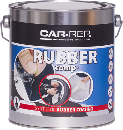 Car-Rep RubberComp Silver Gloss