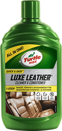 Turtle Wax Luxe Leather Cleaner&Conditioner 500ml
