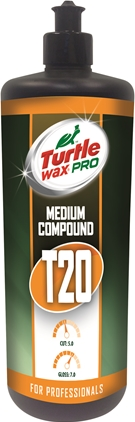 Turtle Wax Pro T20 Medium Polérmedel 250ml