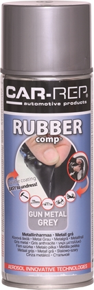 Car-Rep RubberComp Gunmetalgrey 400ml