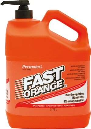 Permatex Fast Orange Handrengöring 3,78L