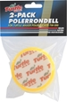 Turtle Wax Polérrondell Gul 100mm 2-pack