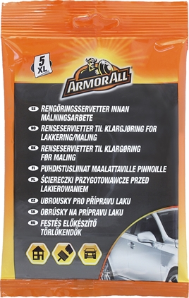 Armor All Paint Preparation Wipes XL, 5st