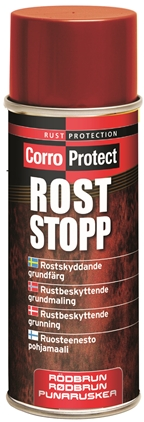 CorroProtect Rost-Stopp Röd spray 400ml