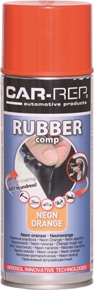Car-Rep RubberComp Neon Orange 400ml