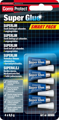 CorroProtect Superglue Smart Pack 4stx0,5g