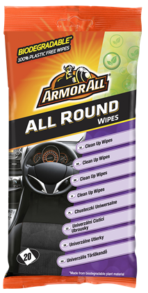 Armor All Clean-Up Wipes Flatpack