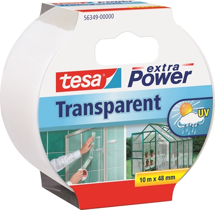 Tesa Reparationstejp Transparent 10m