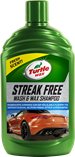 Turtle Wax Streak Free Wash & Wax Shampoo 500ml