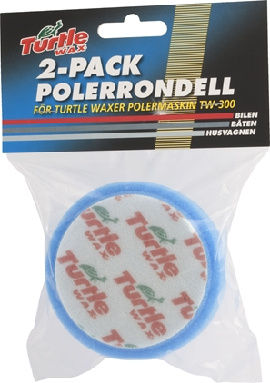 Turtle Wax Polérrondell Blå 100mm 2-pack