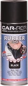 Car-Rep RubberComp Mattsvart 400ml