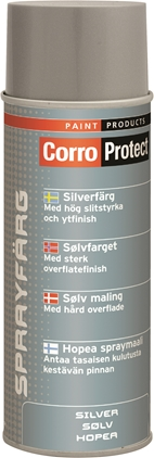 CorroProtect Färgspray Silver 400ml