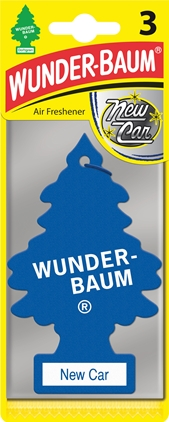 WUNDER-BAUM New Car Scent 3-pack