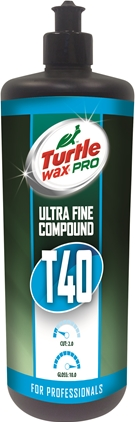 Turtle Wax Pro T40 Ultra Fint Polérmedel 250ml