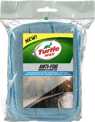 Turtle Wax Anti-Fog Window Cleaner Pad 6-pack